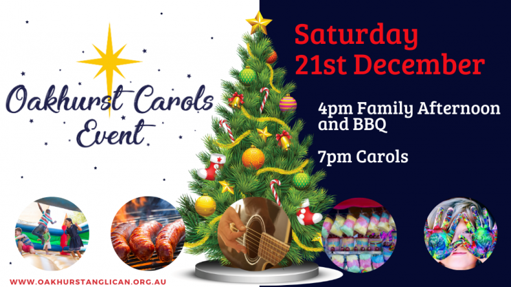 Oakhurst Carols Event