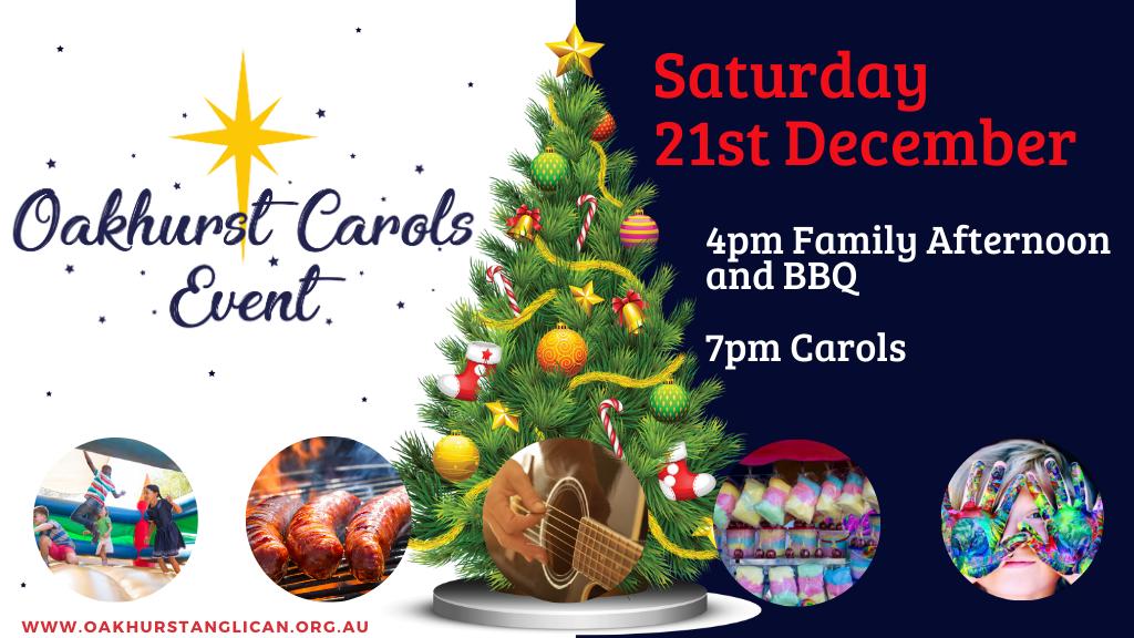 Oakhurst Carols Event