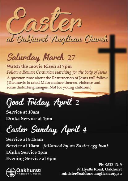 Easter at Oakhurst 2021